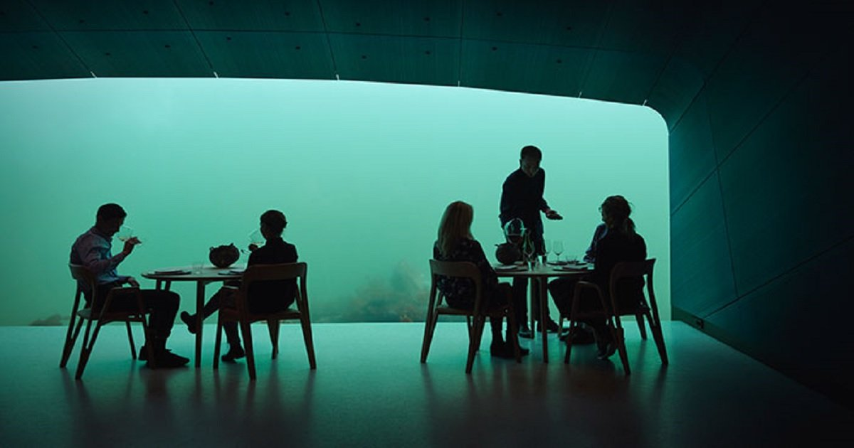 u2.jpg?resize=1200,630 - The World's Largest Underwater Restaurant Is Now Ready To Take Your Order