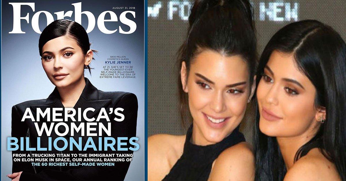 untitled 1 10.jpg?resize=1200,630 - La réaction de Kendall Jenner n'a pas de prix lorsqu'elle apprend que Kylie Jenner devient la plus jeune milliardaire du monde