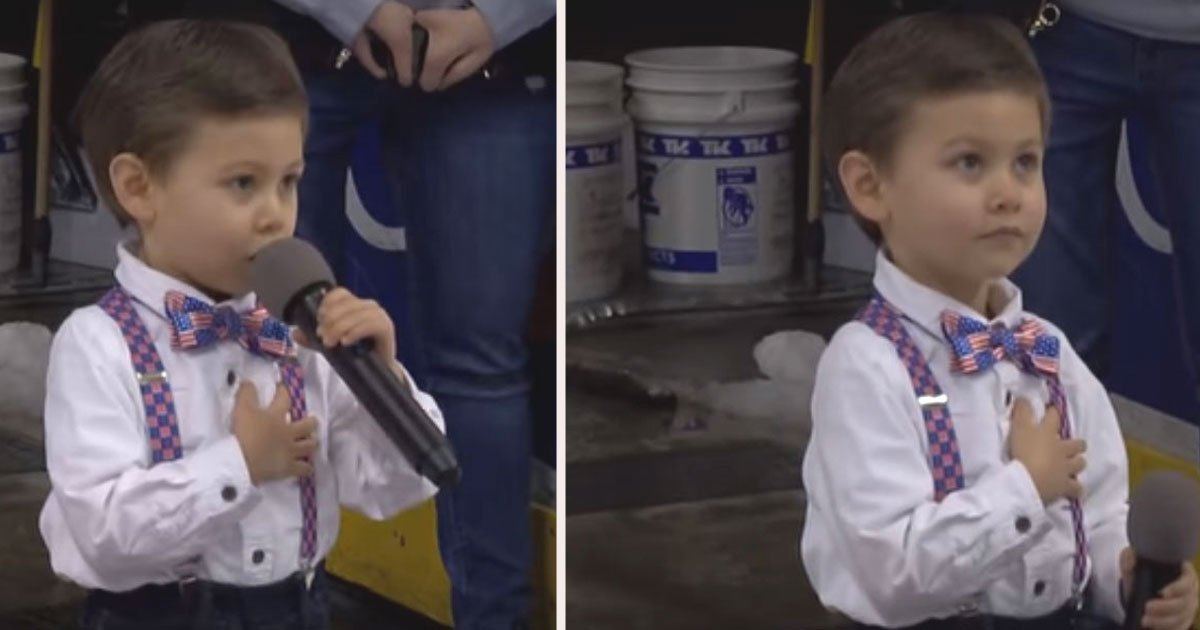 untitled 1 48.jpg?resize=412,232 - Watch This: Adorable 4-Year-Old Nails The National Anthem At Pennsylvania Hockey Game