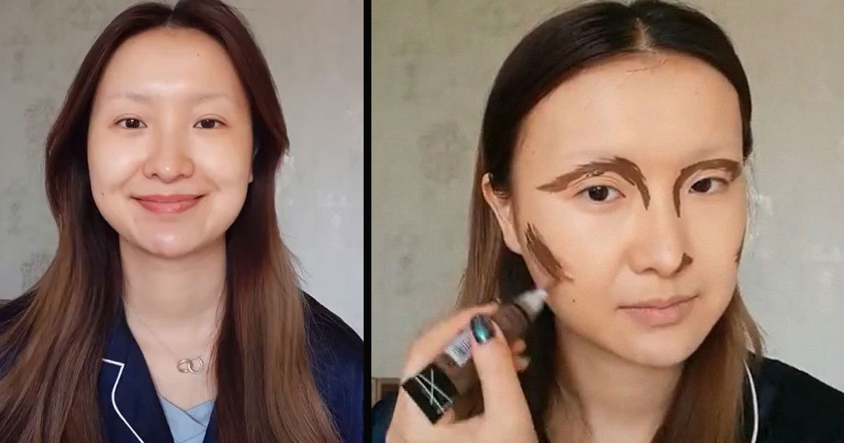 untitled 1 7.jpg?resize=412,232 - A Makeup Artist From China Can Transform Into Anyone