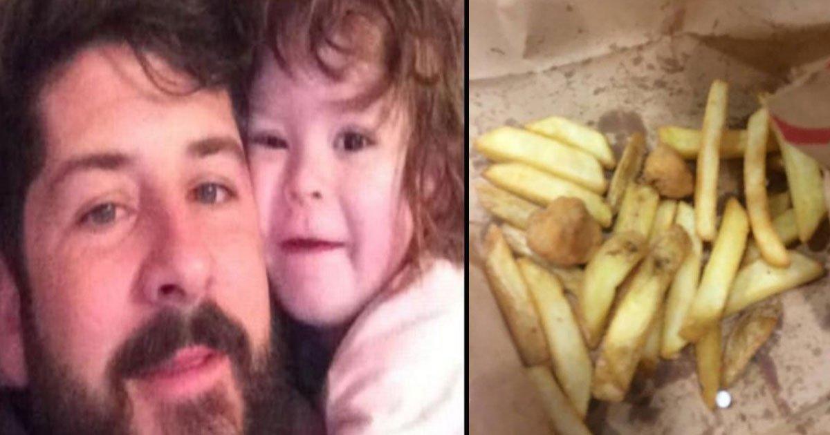 untitled 1 77.jpg?resize=412,232 - Un papa a trouvé des comprimés blancs dans le repas KFC de sa fille