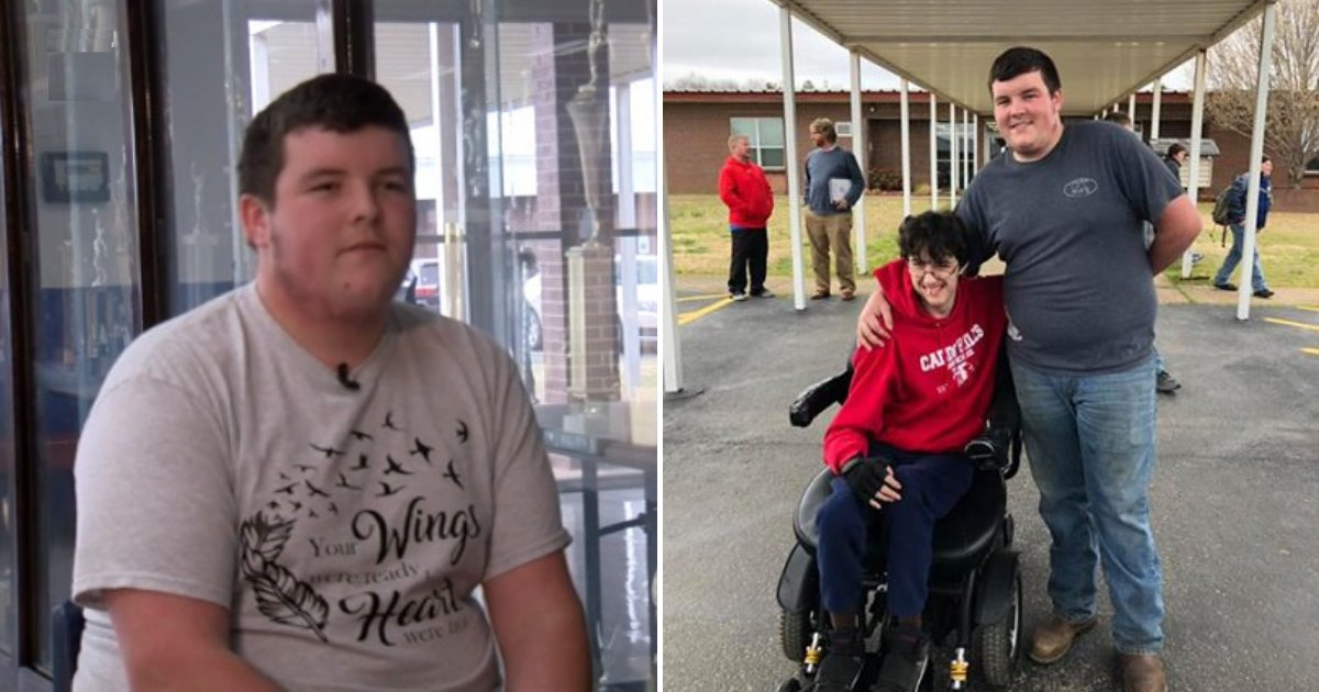 untitled design 21.png?resize=412,232 - Teen Saves Money For Two Years To Buy His Disabled Friend A Wheelchair
