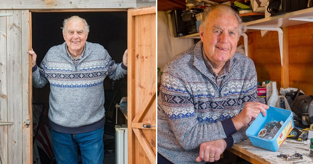 untitled design 25 1.png?resize=1200,630 - Elderly Man Stunned After Discovering Who's Been Tidying His Shed At Night