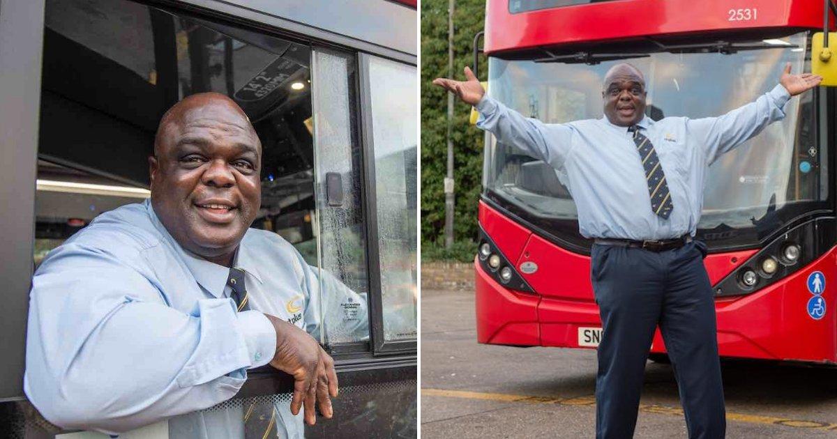 untitled design 57.png?resize=412,232 - Un chauffeur de bus, ancien sans-abri, n'arrête pas de sourire, inspire les gens et remporte des prix