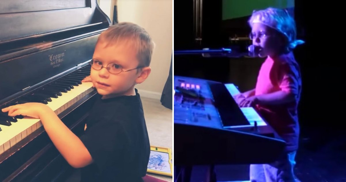 untitled design 63.png?resize=1200,630 - Blind 6-Year-Old Boy Who Sings While Playing Piano Has Taken Over The Internet
