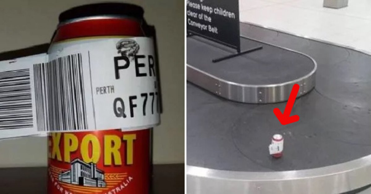 untitled design 67.png?resize=1200,630 - Man Registers A Can Of Beer As Check-In Baggage After Airline Refused To Let Him Fly With It