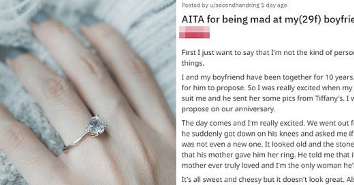 untitled design 86.png?resize=1200,630 - Bride-To-Be Criticizes 'Average Looking' Engagement Ring Given By Her Fiancé