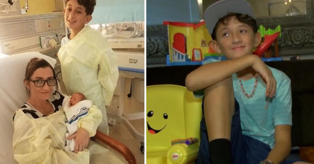 vsvs.jpg?resize=1200,630 - Heroic 10-year-old Boy Helps Mom Delivers Baby Brother And Saved Mom's Life