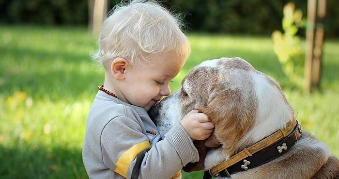 xx kids with dogs2  700 e1552546178307.jpg?resize=1200,630 - 20 Heartwarming Photos That Prove Why All Kids Should Grow Up With A Dog