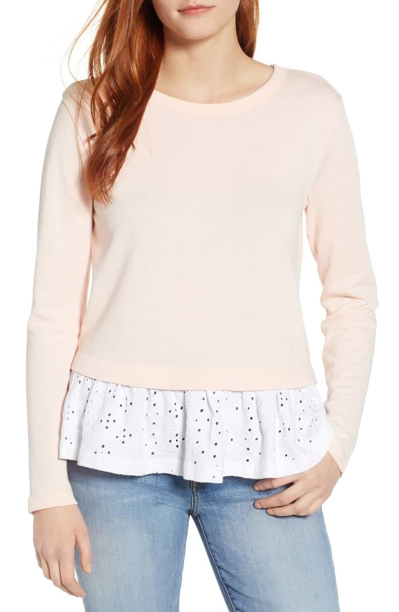 Get it from Nordstrom for .98 (originally , available in sizes XS-XXL regular and XS-XL petite and in four colors).