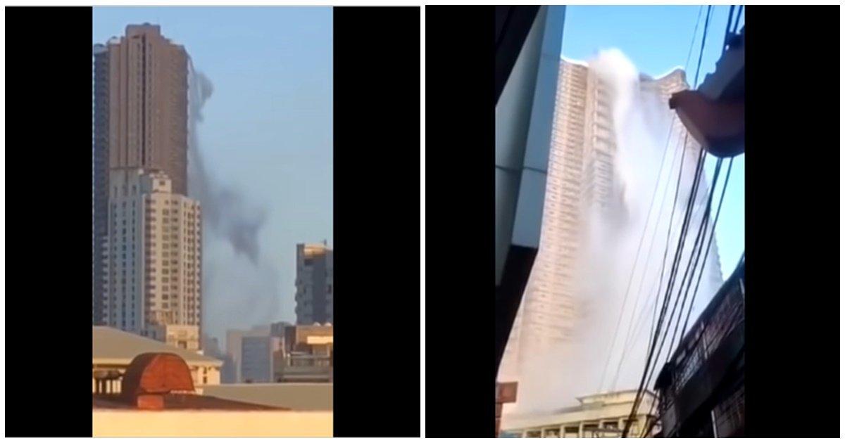 3 173.jpg?resize=412,232 - 필리핀 지진으로 초고층 빌딩 수영장에서 쏟아진 물벼락(영상)