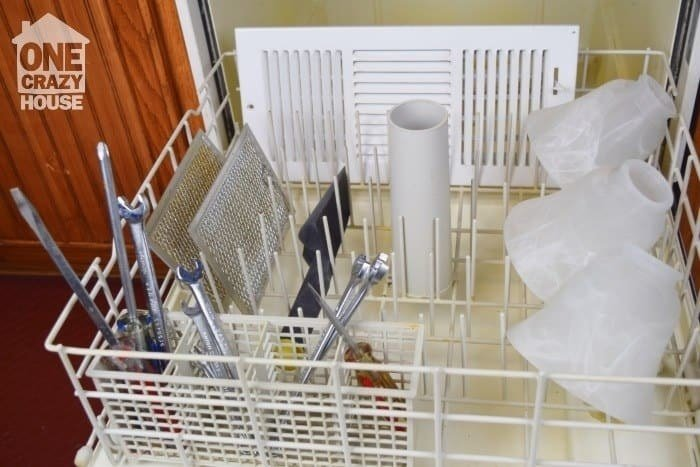 From One Crazy House. For more, check out 16 Ways To Use Your Dishwasher To Clean Almost Everything You Own.