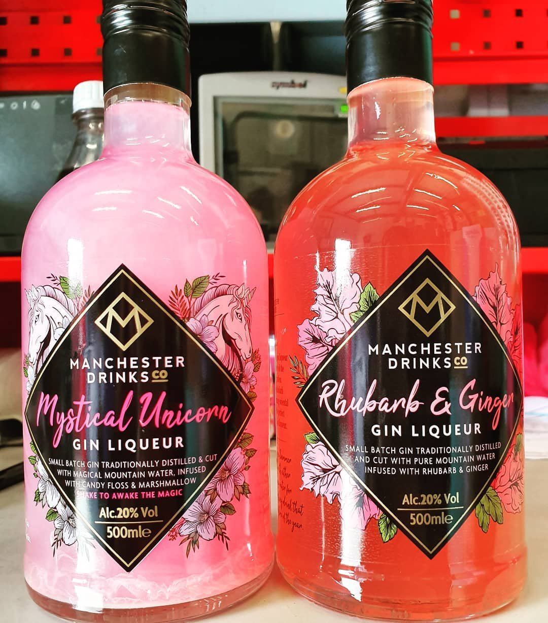 Shimmery Pink Unicorn And Parma Violet Gins Are On Sale At Home