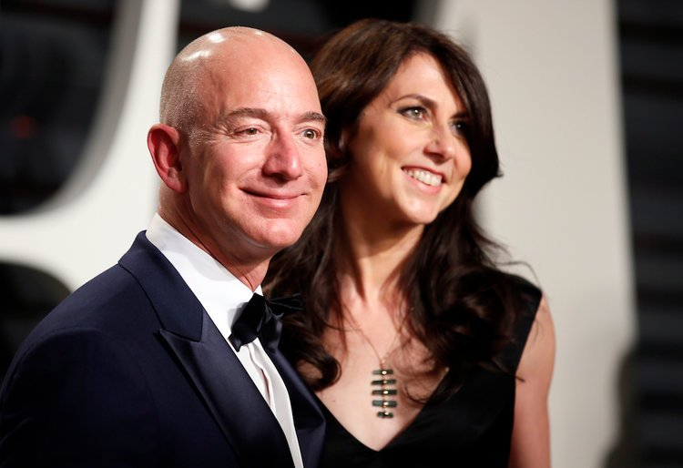 Image result for Jeff And Mackenzie Bezos 750
