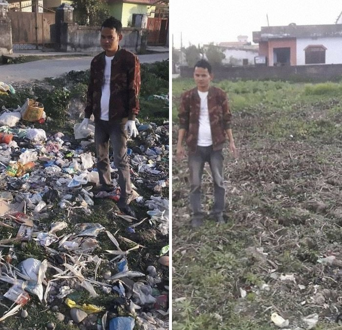 This Is Just A Work Of An Hour! #trashtag