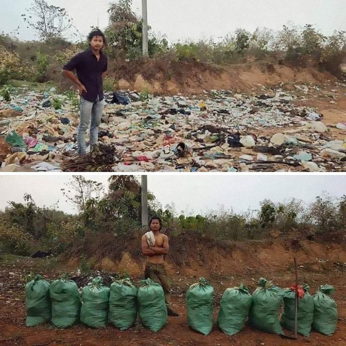 #trashtag Seems To Be Trending. This One