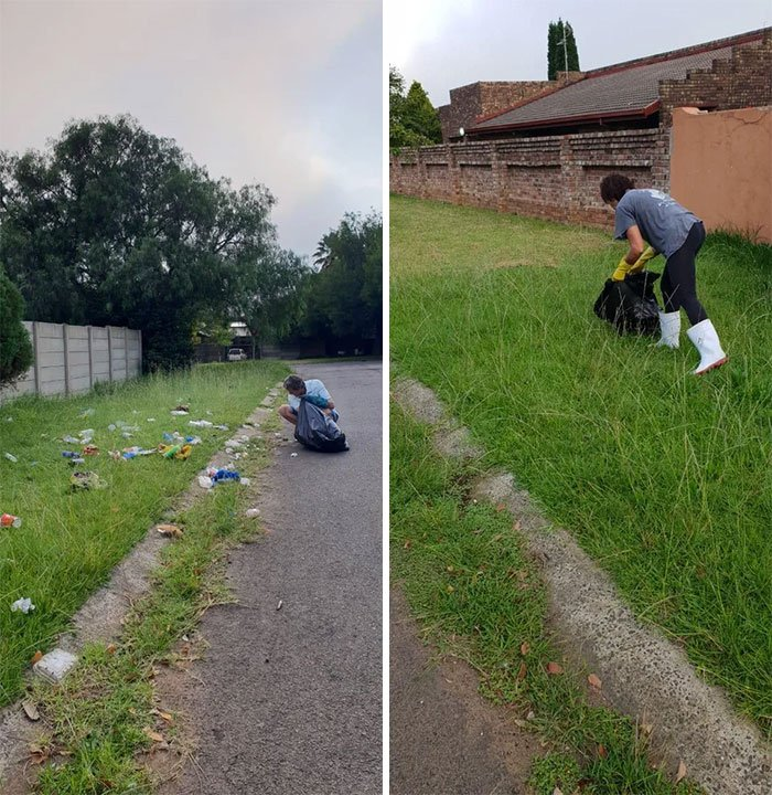#trashtag. South Africa