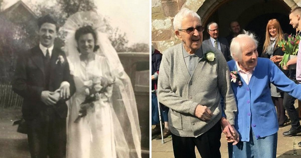 a 20.jpg?resize=412,232 - Elderly Couple Returned To The Church They Got Married 75 Years Ago To Renew Their Vows