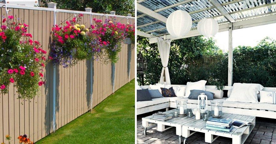 a2 12.jpg?resize=412,232 - 20 Ideias que vão transformar o jardim/quintal da sua casa em um lugar criativo e aconchegante