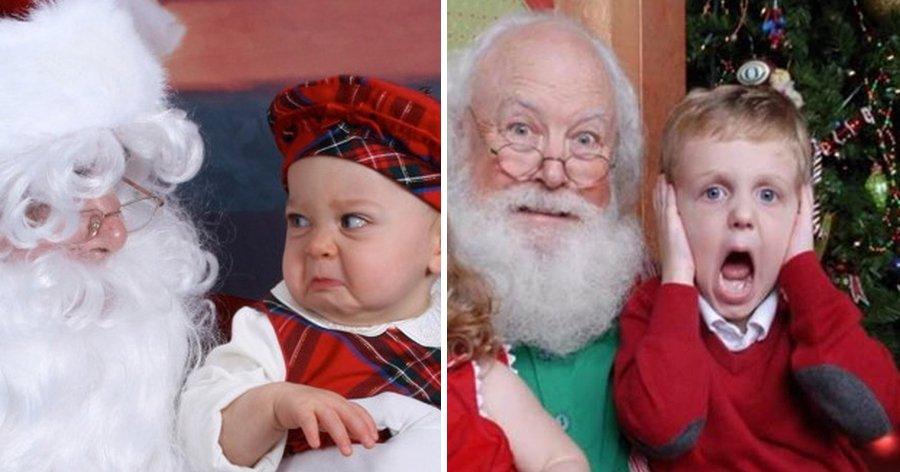 a3 6.jpg?resize=412,232 - 13 Crianças que não têm tempo para fotos com o Papai Noel