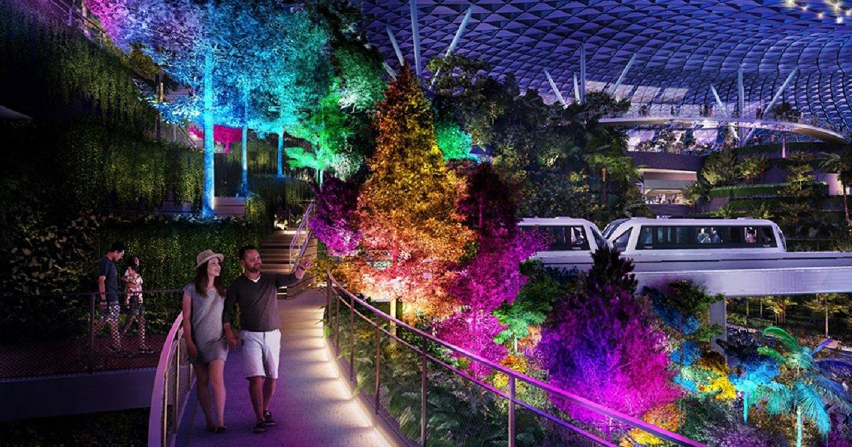 a3.jpg?resize=1200,630 - Le meilleur aéroport du monde se dote d'une forêt tropicale intérieure et un parc d'attractions
