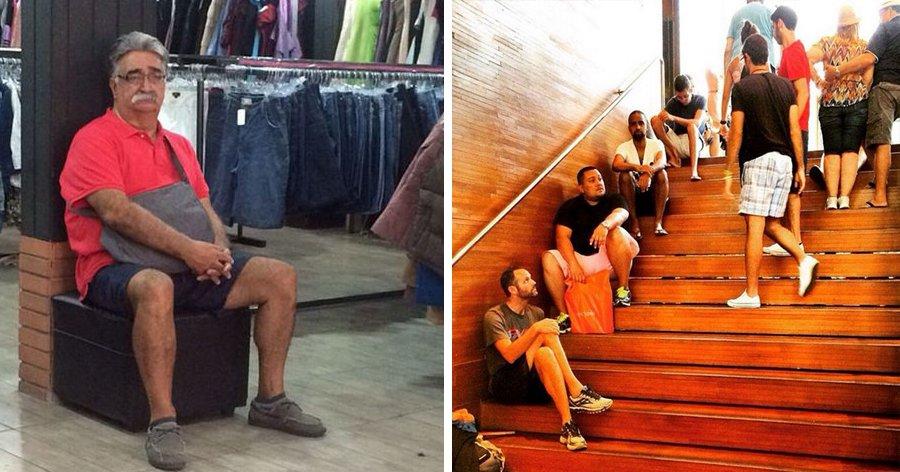 a7 9.jpg?resize=1200,630 - 25 Fotos hilárias de homens fazendo compras com suas esposas e namoradas