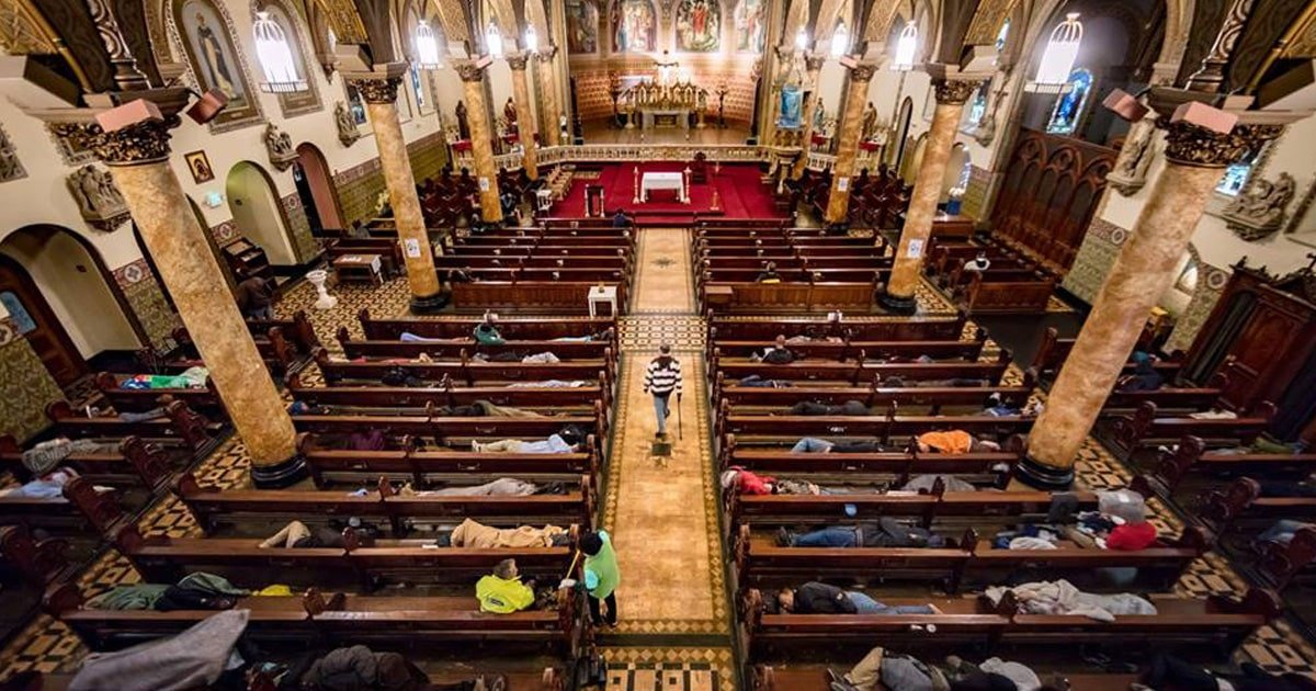 aa 1.jpg?resize=1200,630 - Local Churches Opened Their Doors To Shelter The Homeless In A Heartfelt Gesture
