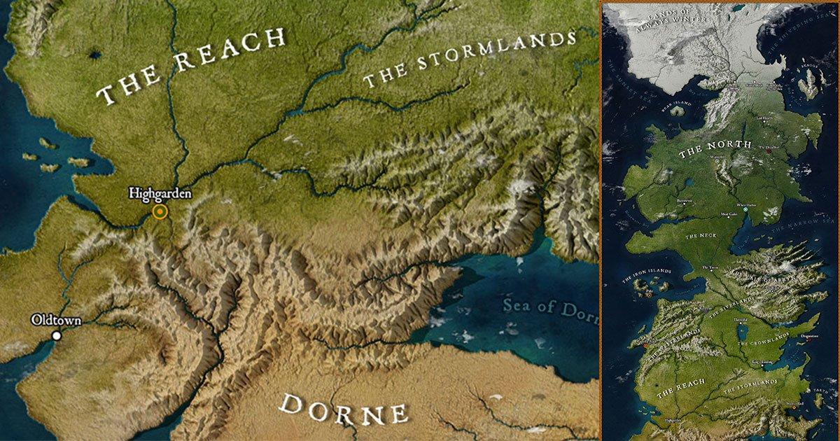 an artist created a map of westeros and it is perfect representation of the world.jpg?resize=300,169 - Un artiste a créé une carte de Game of Thrones et elle est tout simplement parfaite