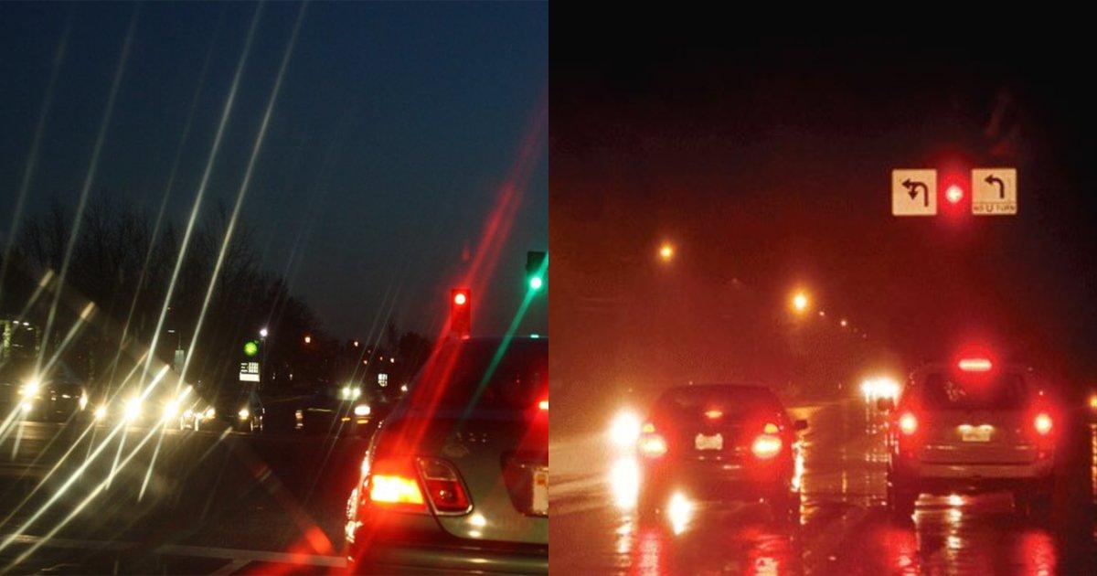 astigmatism.jpg?resize=1200,630 - 【左?それとも右?】あなたには夜の風景がどっちのように見える?