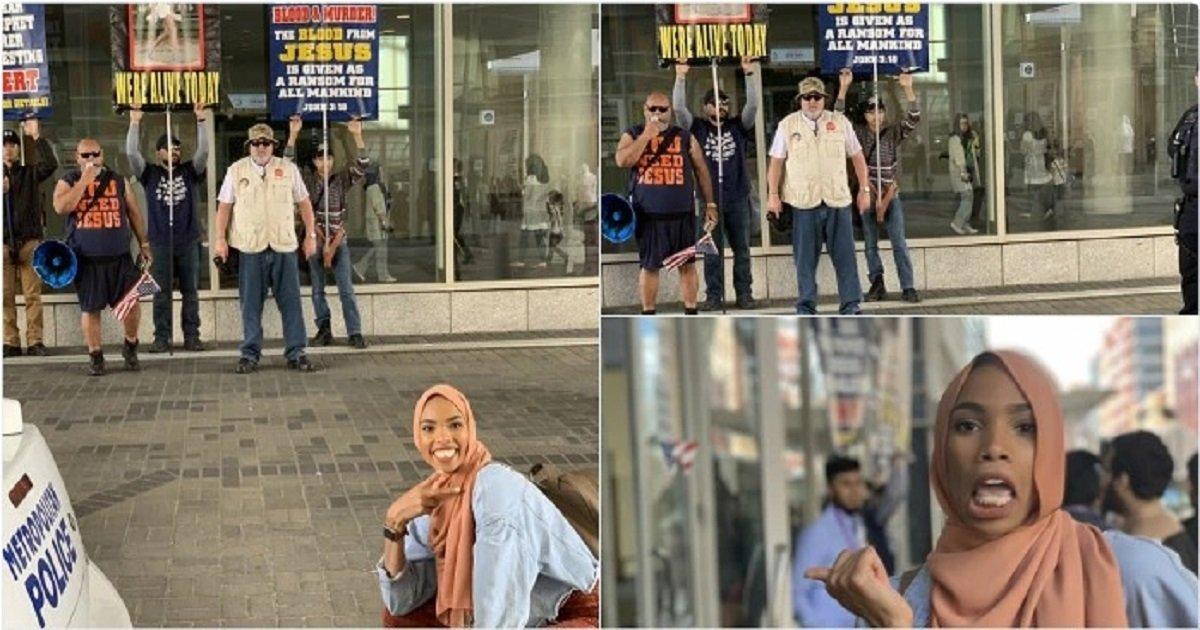 b4 1.jpg?resize=412,232 - A Muslim Woman Had A Beautiful Response To Anti-Muslim Protesters