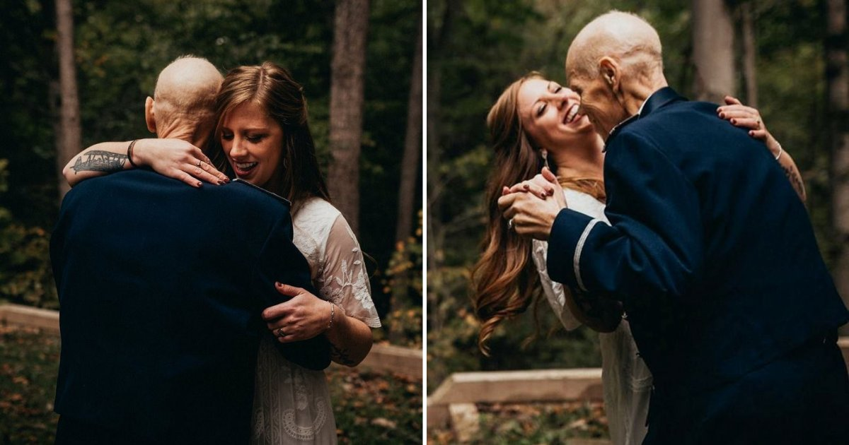 becky9.png?resize=412,232 - Woman Cancelled Engagement Shoot To Take Photos With Terminally-Ill Father Who Passed Away Months Later