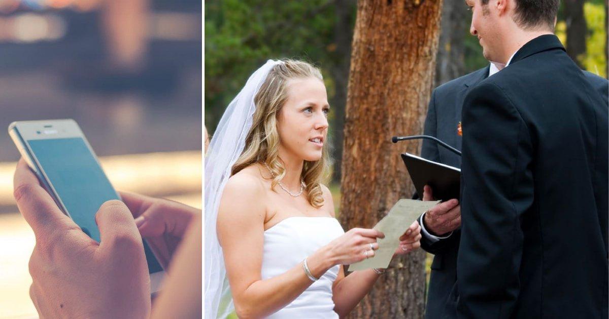 bride3.png?resize=300,169 - La future mariée découvre la veille de son mariage que son fiancé l'a trompée, et elle lit les SMS au lieu de ses vœux