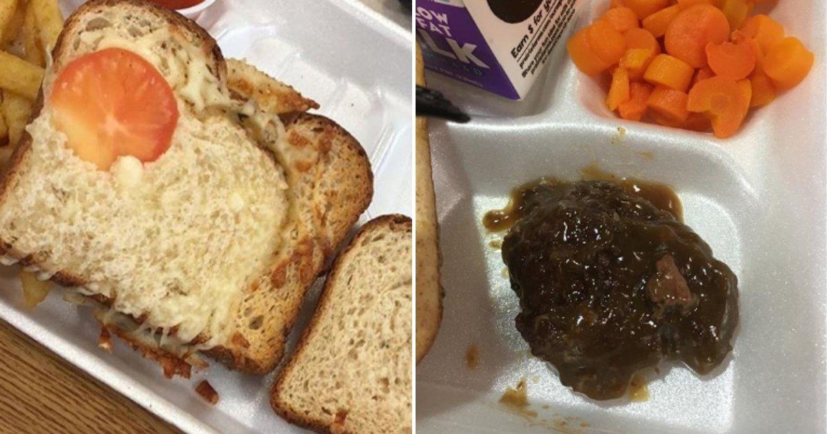 cafeteria8.png?resize=412,232 - Un étudiant a crée un compte Instagram pour exposer les repas de la cafétéria de l'école qui sont constamment pourris