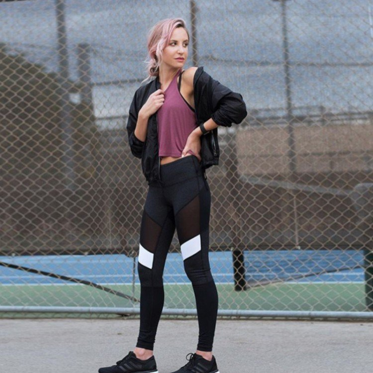 Image result for women wearing leggings 750