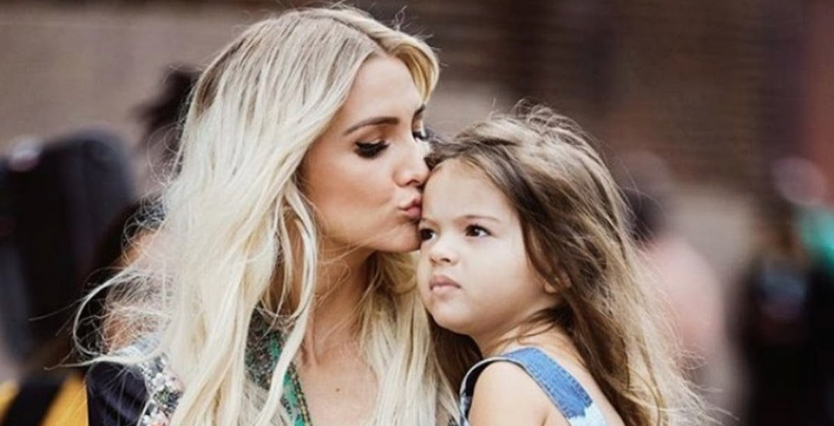 celeb mom and child.jpg?resize=412,275 - 20 Photos Of Celebrity Moms And Their Children That We Rarely See