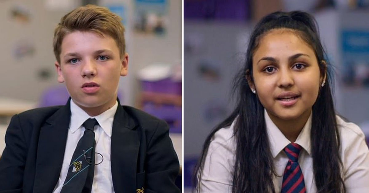 channel 4 show.jpg?resize=1200,630 - Viewers Of C4's The Great British School Swap Were Left Heartbroken After A Muslim Girl Told A Boy That They Can't Be Together Due To Her Faith