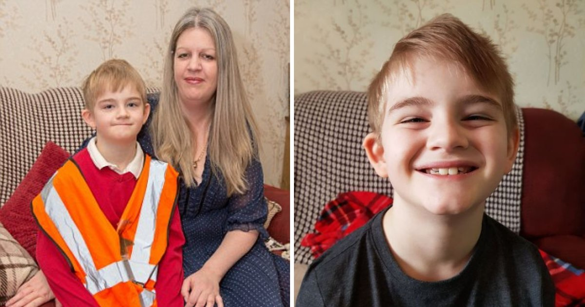 charlie6.png?resize=412,232 - Mother Launched Legal Action Against School After Her Son, 7 Was Forced To Wear A Bib