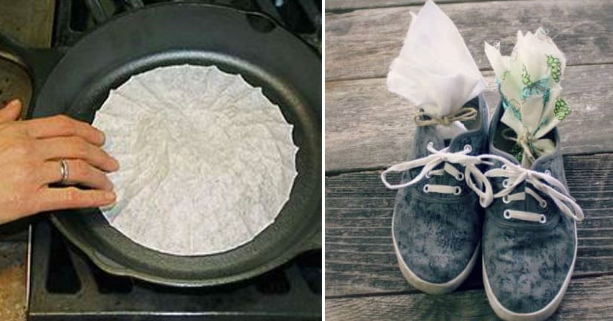 coffee filter hacks.jpg?resize=1200,630 - 40+ Creative Uses For Coffee Filters To Do Everything Besides Making Coffee