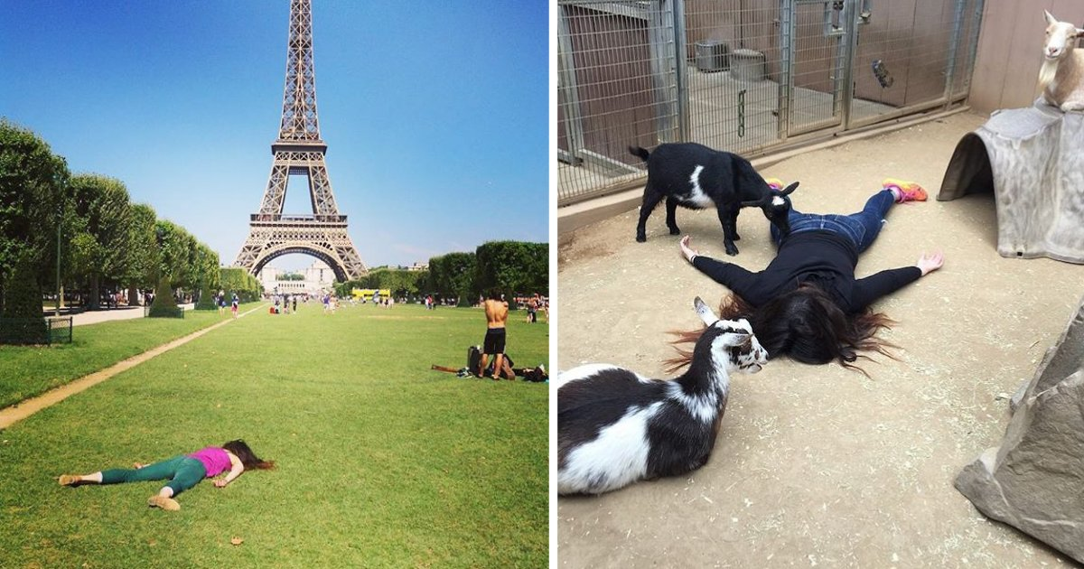 d1 18.png?resize=1200,630 - Crazy Instagrammer Shares Instagram Posts Near Renowned Landmarks Posing as Dead