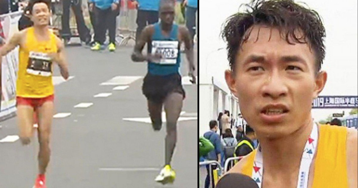 d2 19.png?resize=412,232 - A Chinese Runner Poos During Half Marathon But Still Wins It