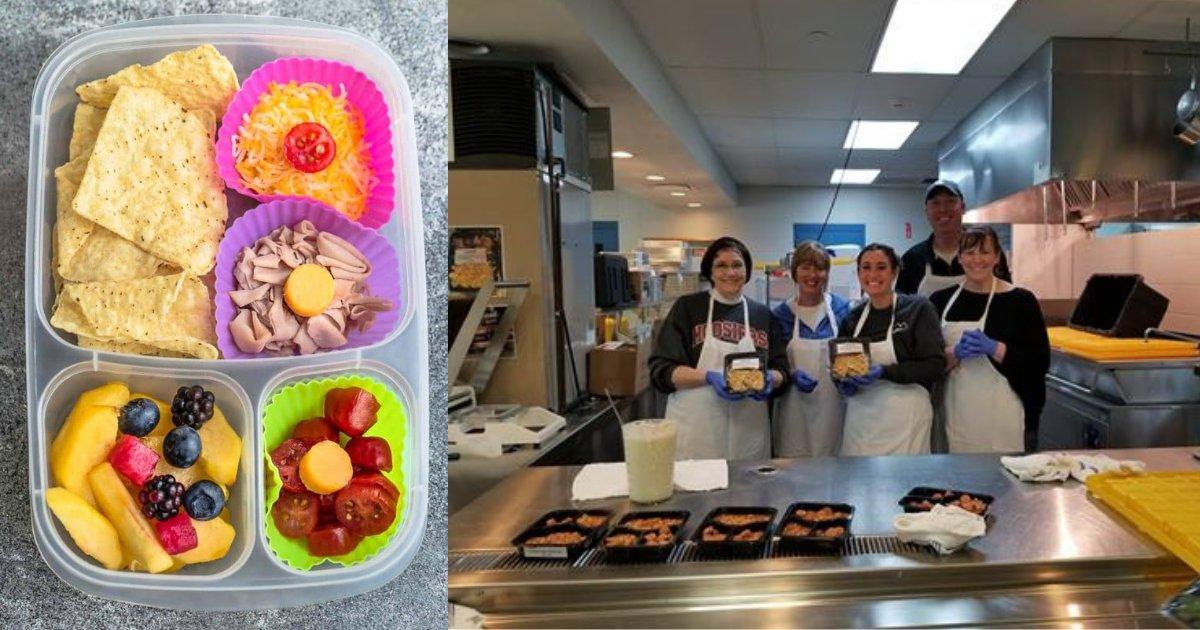 d2 4.png?resize=412,232 - L'école a pris une initiative pour fournir de la nourriture à emporter aux enfants affamés de l'établissement