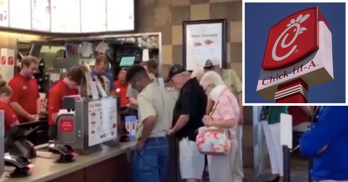 d3 3.png?resize=1200,630 - A Chick-fil-A Manager Stops The Services to Pray for the Employee Who Was Having Breast Cancer Surgery