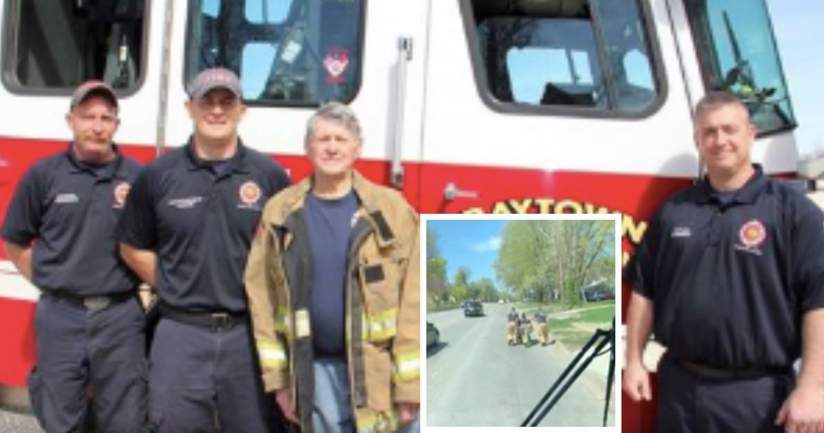 d4 15.png?resize=1200,630 - Firefighter Helped Wheelchair Aided Man to Reach Home When the Wheelchair Got Stuck