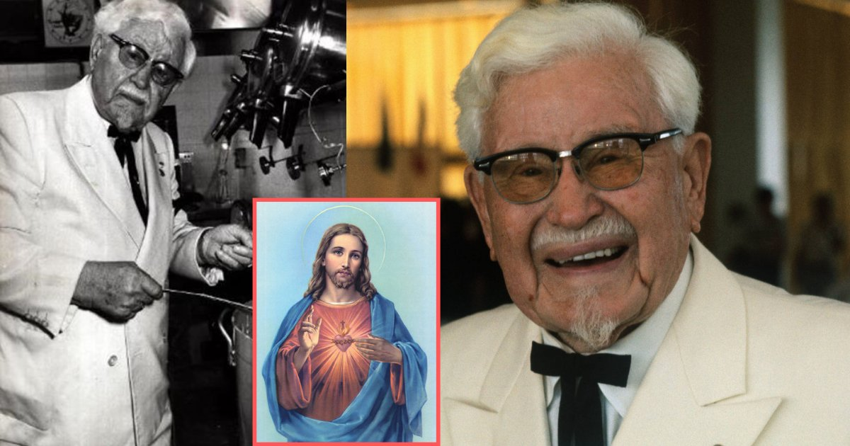 """d4 7.png?resize=1200,630 - """"Jesus Saved Me"""" Colonel Sanders Reveals to the Interviewers in a 1979 Interview"""