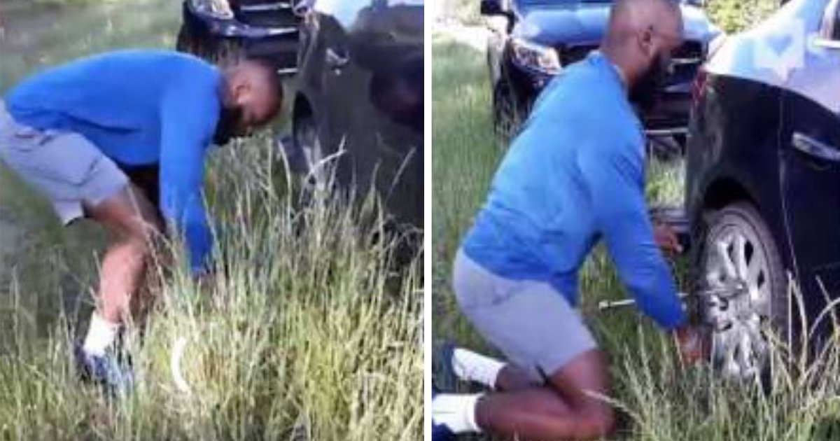 d5 12.png?resize=1200,630 - NFL Player Rescues Old Teacher With a Flat Car Tire