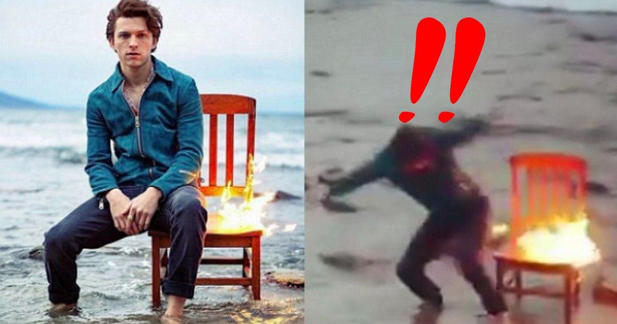"e696b0e5a29ee5b088e6a188 13.png?resize=1200,630 - 燃えてる椅子に座って「カッコよく」撮影していたら、""緊急脱出""する爆笑事態になってしまったハリウッド俳優は…?"