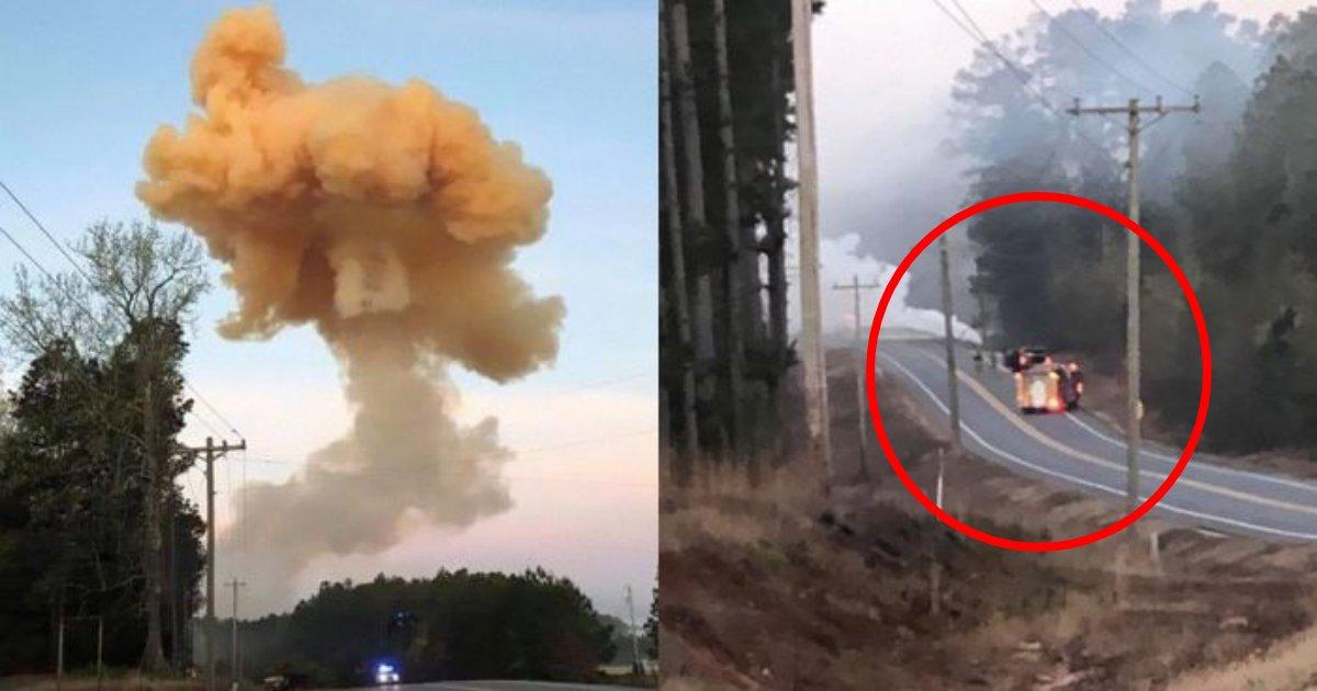 """e696b0e8a68fe38395e3829ae383ade382b7e38299e382a7e382afe38388 5.png?resize=300,169 - 「トラックが爆発寸前!」大型事故が起きないために運転手がした""""最後""""の行為は?"""