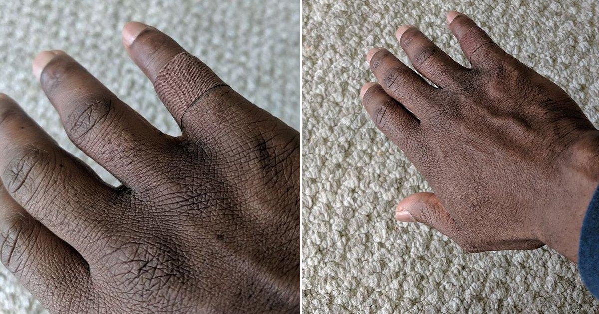 """eca09cebaaa9 ec9786ec9d8c 93.png?resize=412,232 - """"내 피부색과 같은 반창고""""......네티즌들 눈물 쏟게 만든 특별한 반창고"""