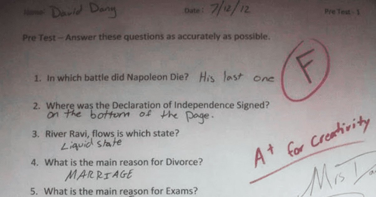 exam questions.jpg?resize=1200,630 - 50+ Creative Ways To Answer Exam Questions When You Don't Know The Answer
