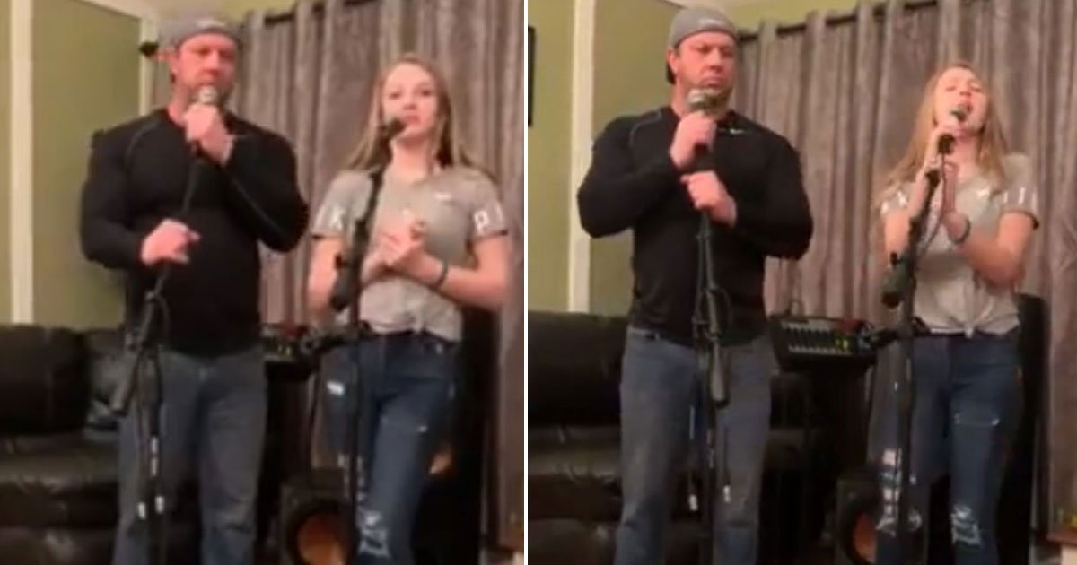 father daughter singing.jpg?resize=1200,630 - Video Of Father-Daughter Duo Singing 'Shallow' Won The Internet